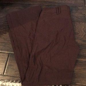 hm brown work pants.